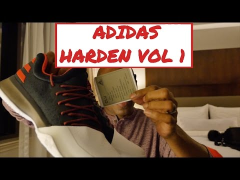 This is the adidas Harden Vol 1 Sneaker