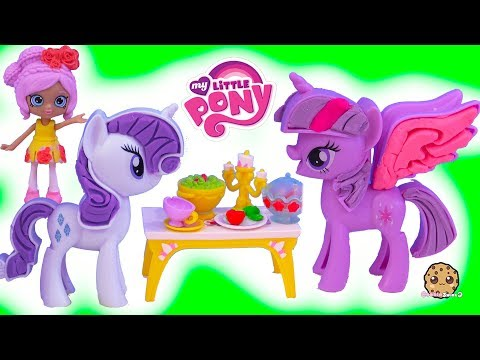 Thumbnail: My Little Pony Play Doh Dress Up + Shoppies Disney Happy Places Surprise Blind Bags