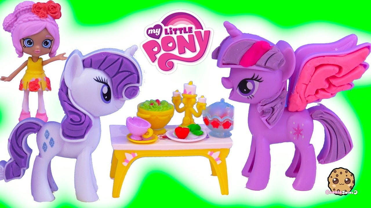 My Little Pony Play Doh Dress Up Shoppies Disney Happy Places Surprise Blind Bags