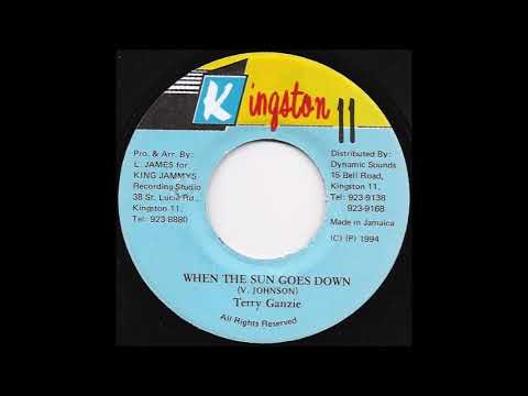 Terry Ganzie - When The Sun Goes Down (1994) Shank I Sheck Riddim