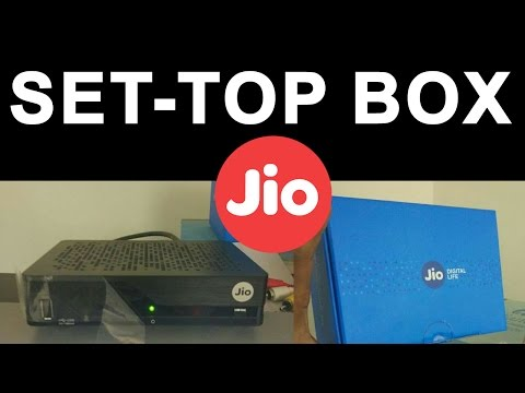Reliance Jio Set Top Box | DTH OFFER Launching in INDIA | Features Update | Price & Unboxing