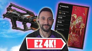 This Gun is tнe EASIEST Way to get 4K DAMAGE in Season 10