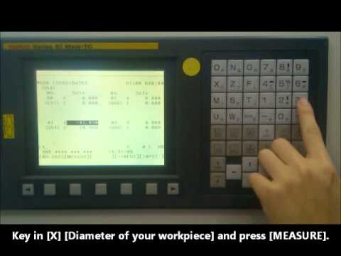 How To Operate The Cnc Turning Machine Youtube