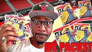 IRL Pack Opening vs NBA Live Mobile Pack Opening Ep.1!