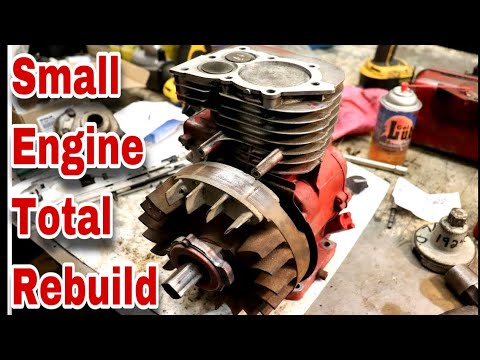 NEW* Small Engine Total Rebuild - with Taryl