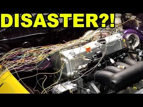 LAMBO KILLER BUILD | 600HP AWD TURBO HONDA CIVIC | ECU MASTER BLACK