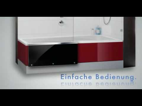 badewanne mit t r easy in von repabad youtube. Black Bedroom Furniture Sets. Home Design Ideas
