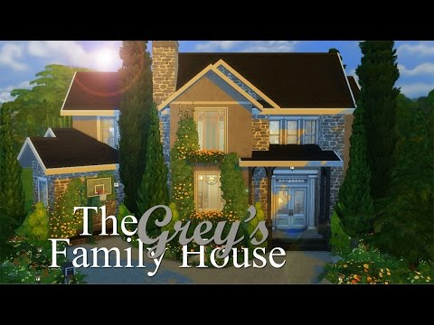 The Sims 4   Builds For You: The Grey's Family Home