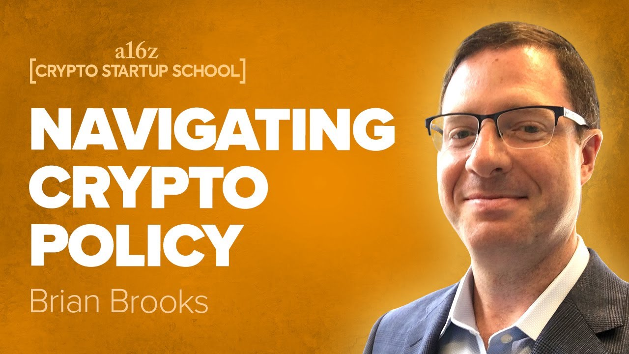 Brian Brooks: Token Securities Framework and Launching a Network