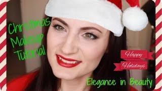 Christmas Makeup Tutorial Thumbnail