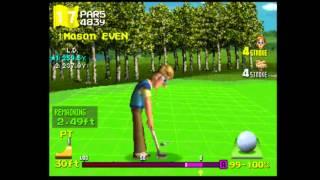 Hot Shots Golf 2 (Everybody39;s Golf 2)  VS Sir Dan (I did it)  3  3