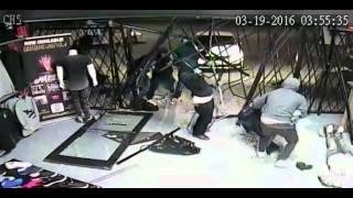 Burglary at Hang Time Clothing Store