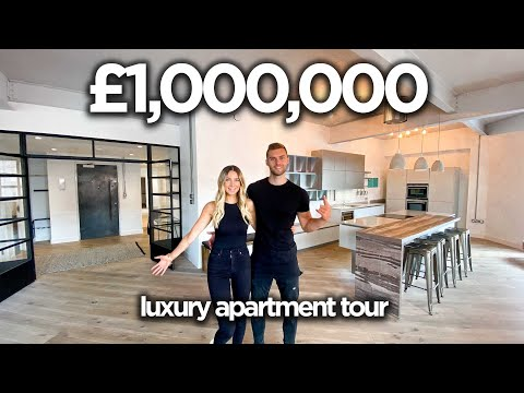 Inside A £1,000,000 Luxury Apartment (UK)