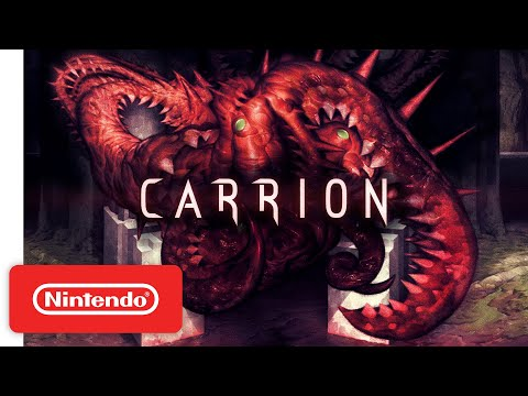 Carrion - Release Date Trailer - Nintendo Switch