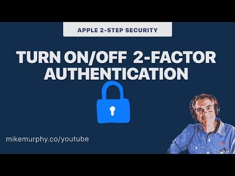 iOS Devices: How to Turn Off 2-Factor Authentication