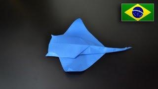 Origami: Arraia - Instruções em Português BR