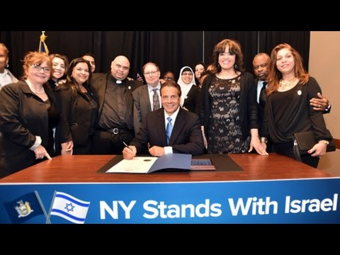 Ali Abunimah: NY Governor Blacklists BDS to Defend Israeli Apartheid