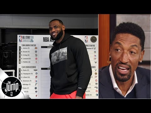 2019 NBA All-Star Draft was 'great start' for LeBron's recruiting - Scottie Pippen | The Jump