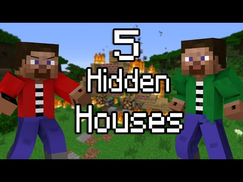 5 Ways to Hide Your House from Pros & Hackers - Minecraft
