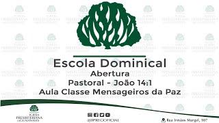 Escola Dominical ao vivo - 12-07-2020