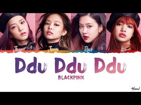 How Would BLACKPINK Sing 'Ddu Ddu Ddu' By AOA Lyrics [Color Coded_Han_Rom_Eng]