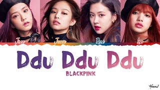 Download Lagu How Would BLACKPINK Sing 'Ddu Ddu Ddu' by AOA Lyrics [Color Coded_Han_Rom_Eng] Mp3