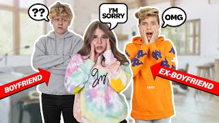 Wearing My EX BOYFRIENDS Hoodie To See How My Boyfriend Reacts PRANK **TRUTH ABOUT PISOGAV**💔📦|Piper