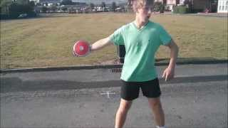 discus drills and throwing progressions