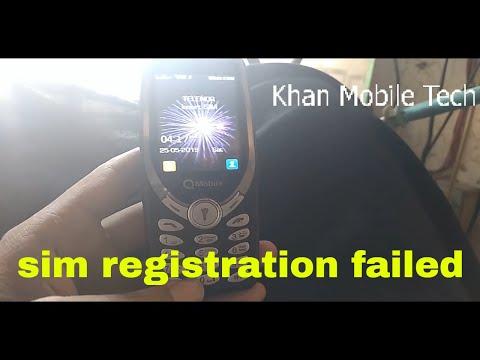 qmobie 3310 j1000 sim registration failed code - PakVim net HD