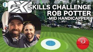 GOLF FSX SKILLS CHALLENGE - MID HANDICAPPER ROB POTTER