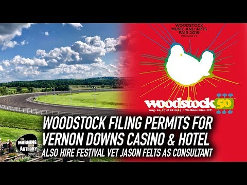 Woodstock 50 Files Permits for Vernon Downs; Hires Jason Felts Mp3