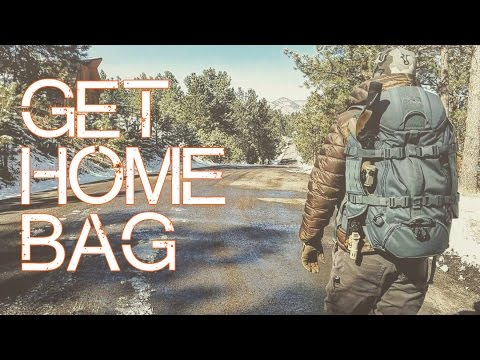 The BEST Get Home Bag 2017 Urban/Rural - SOG Prophet 33 Revi