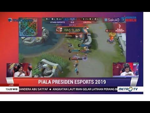 Final Kualifikasi Piala Presiden Esport Regional Manado