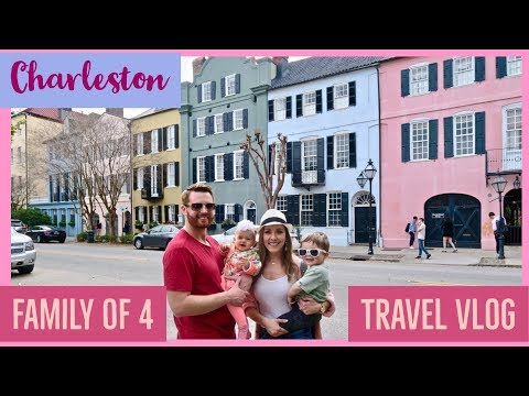 DAY IN THE LIFE OF A MOM 👨‍👩‍👧‍👦 | WEEKEND VACATION TO CHARLESTON | TRAVEL VLOG 🛣✈️