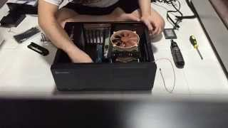 silverstone Grandia GD09 Time lapse build using Iphone 6