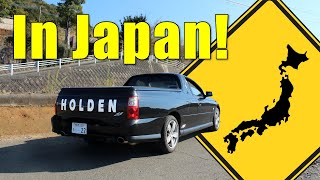 I Found a VY Holden Commodore SS Ute In Japan! I Drove it, Too