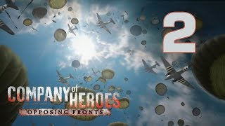 "Прохождение Company of Heroes: Opposing Fronts #2 - Вольфхезе: Сентябрьский снег [Операция ""Огород""]"