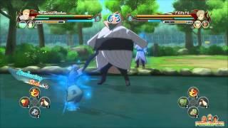 Naruto Shippuden Ultimate Ninja Storm Revolution - 2nd Mizukage vs 4th Mizukage