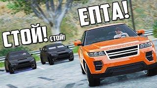 GTA 5 COPS & ROBBERS - САМЫЙ ЭМОЦИОНАЛЬНЫЙ И ЭНЕРГИЧНЫЙ РЕЖИМ! ПО ГОРОДУ БЕЗ ПДД ОТ ЧЕТЫРЕХ МАШИН!