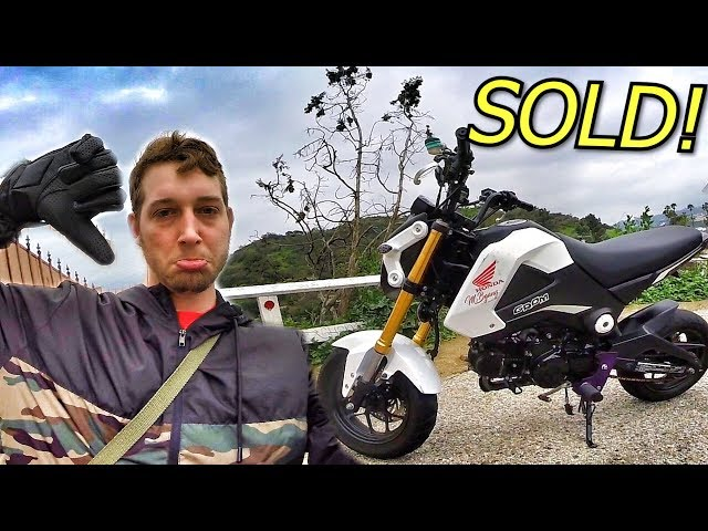 SAD DAY... I SOLD MY GROM!