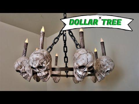 Dollar Tree Halloween Decor| DIY Halloween Decorations [2019] 💀 *EASY*