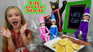 Elf On The Shelf Breakfast! Pancakes for Dinner Day 13!!