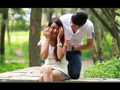 Aankhama Aayera  - Santosh Khadgi Ft. Prashna Shakya | New Nepali Pop Song 2014