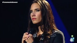 """India Martínez canta """"Todo no es casualidad"""""""