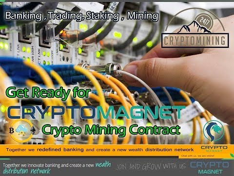 CryptoMagnet Mining Bank