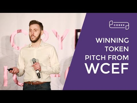 Codex Protocol winning token pitch @ World Crypto Economic Forum (WCEF)