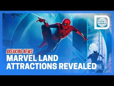 BREAKING NEWS - Full Lineup of Marvel Land Attractions Revealed for Disneyland Resort