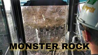 Monster Rock vs  Hitachi EX1200
