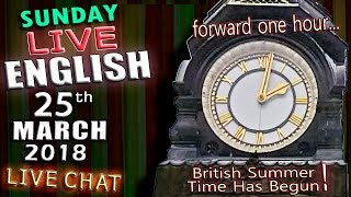 LIVE ENGLISH LESSON - 25th March 2018 - 2pm UK time - What is an