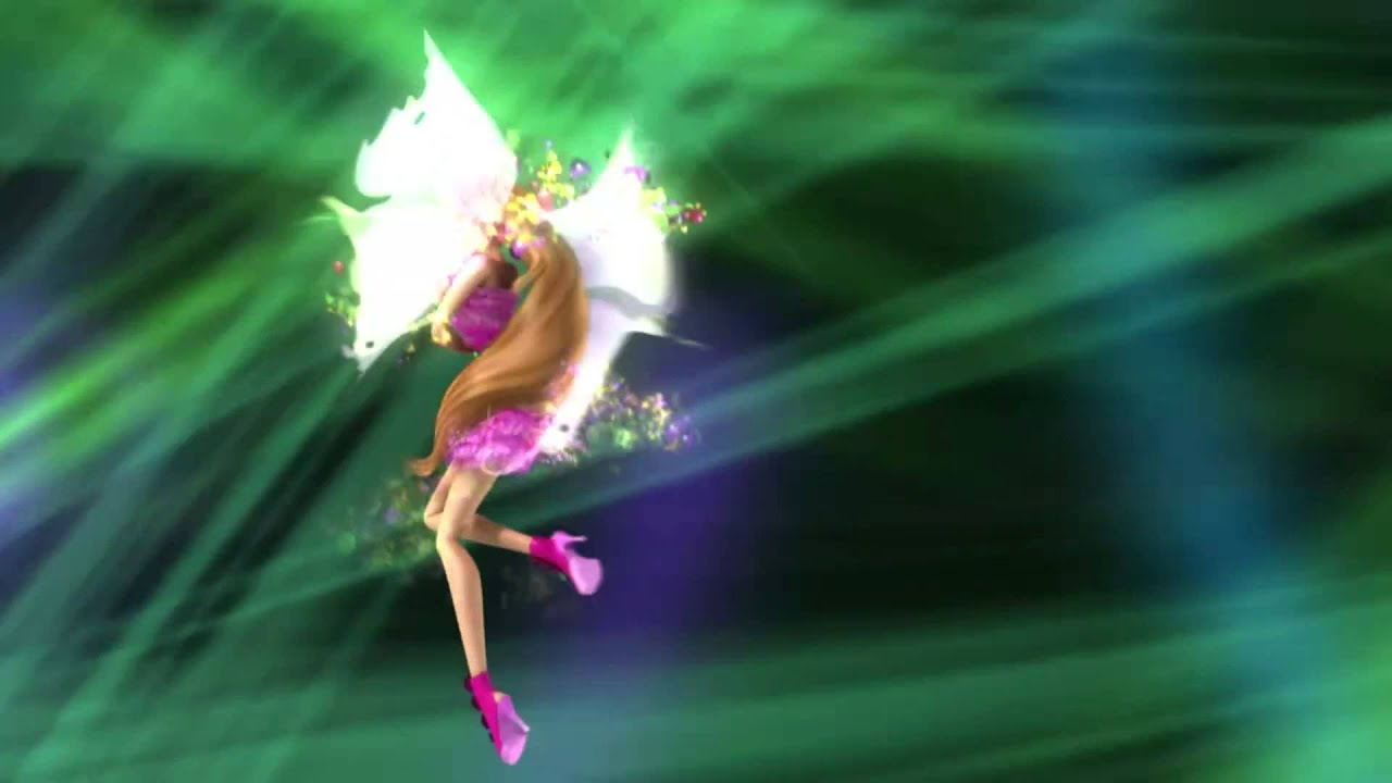 winx club season 6 episode 17flora mythix transformation